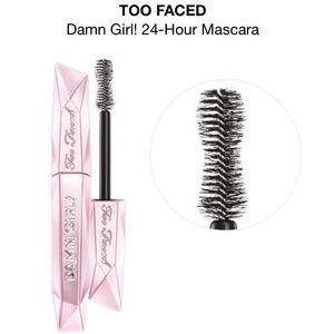 Too Faced Damn Girl 24 Hour Mascara Black